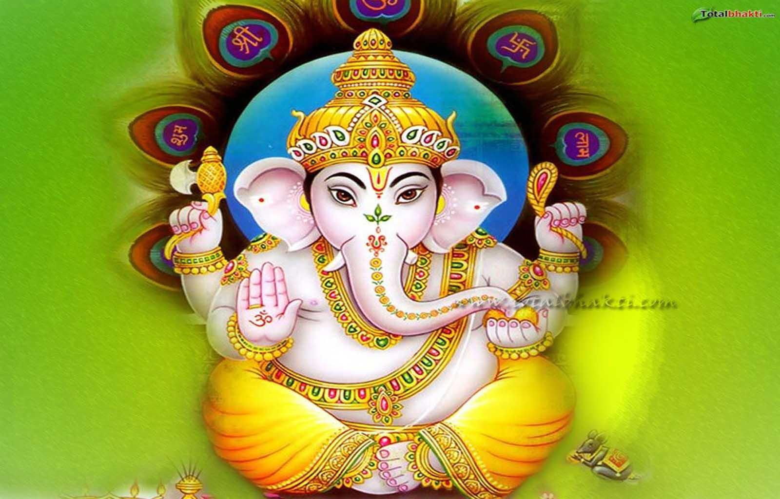 Hare Krishna: Shri Ganesh Wallpaper-8