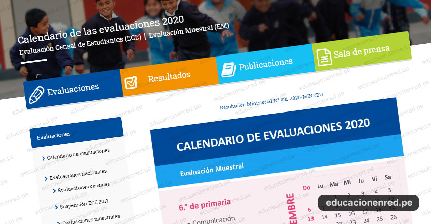 ECE 2020: Estas son las fechas para la Evaluación Censal de Estudiantes del Ministerio de Educación - MINEDU