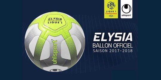Le nouveau ballon de la Ligue 1 pour la saison 2017/18