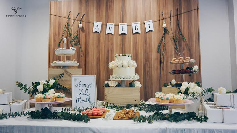 wedding cake table decorations rustic rustic dessert table ideas twinniefoods 26184