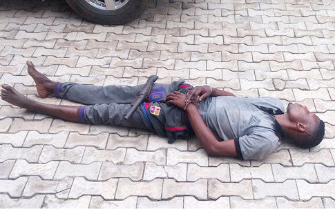 See Armed Robber Who Slept Off In Victim's House After Taking