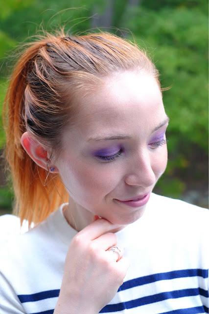 Makeup Tutorial - Amethyst Eyes