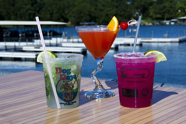 Dog Days Bar & Grill, Lake of the Ozarks, cocktails, drink menu