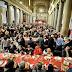 Il pranzo di natale con i poveri