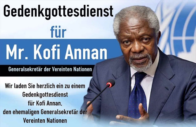 Former Late United Nations Secretary-General, Mr. Kofi Annan