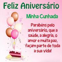 Vídeo Mensagem de Aniversário para Cunhada, Querida Cunhada te Desejo um Feliz Aniversário.