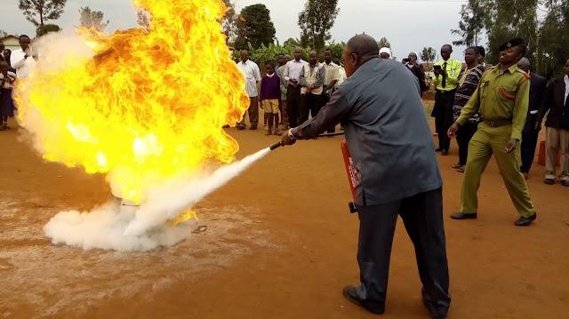 Zimamoto Kagera yatoa Elimu ya Kukabili Majanga ya Moto kwa Watawa na Mapadre  Jimbo Katoliki la Rulenge Ngara.