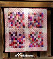 Scrap Happy baby quilt