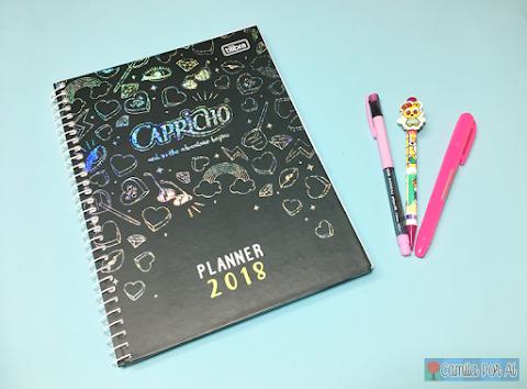 Planner Capricho 2018, uma novidade para se organizar