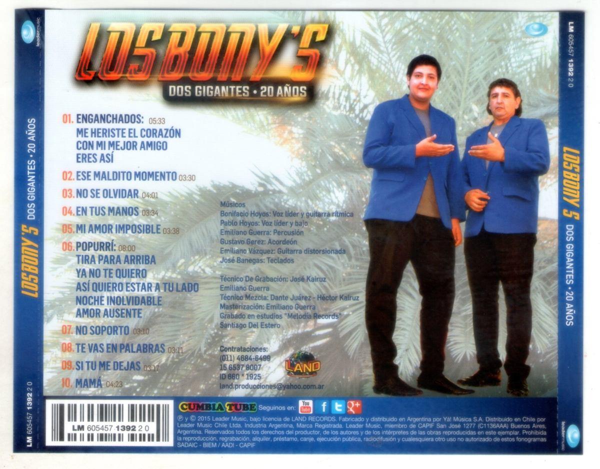 discografia completa de los bonys