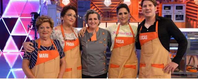 miembros del equipo naranja de mi madre cocina mejor que la tuya