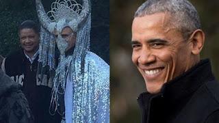 """La foto """"satánica"""" de Obama que levanta polémica por estar disfrazado de Baphomet   #Katecon2006"""