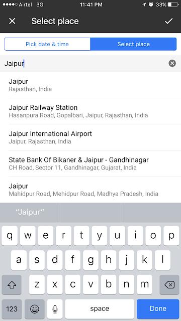 Google Keep location