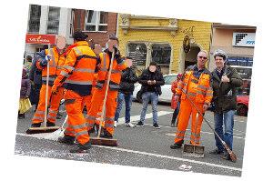 Bonn Orange - die Herren mit Geduld und Witz... Danke!