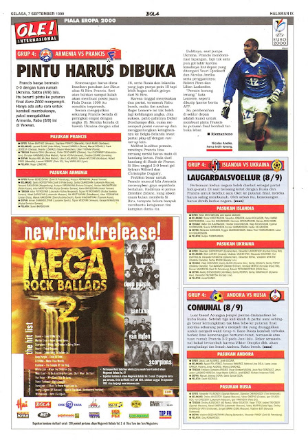ARMENIA VS PRANCIS PINTU HARUS DIBUKA