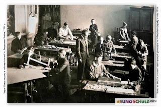 Drohobycz - Pracownia Schulza w Gimnazjum