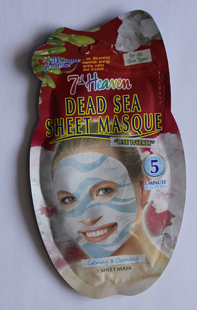 IMG 1308 - Vrijdag Maskerdag: 7th Heaven Dead Sea Sheet Masque