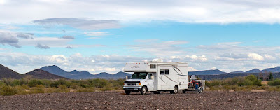 The Southwestern Sojourn - Days 50 & 51 An Unlisted BLM site and Rain