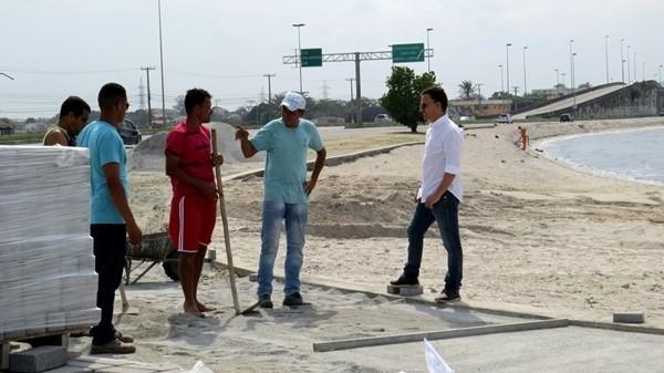 Prefeitura de São Pedro da Aldeia anuncia oficialmente retomada das obras de urbanização da Praia do Centro
