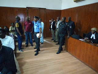 Evans finally charged to Court