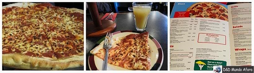Pizzaria em Londres - Diário de Bordo - 5 dias em Londres