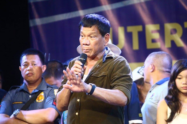 Duterte admits shooting a bully San Beda Law student