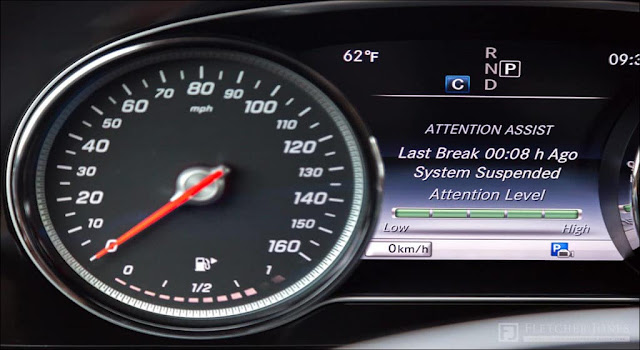 Hệ thống cảnh báo mất tập trung - Attention Assist