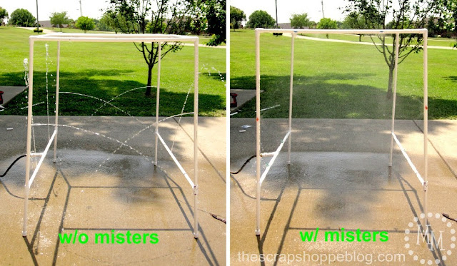 BEST PVC Pipe Car Wash Tutorial misters vs no misters