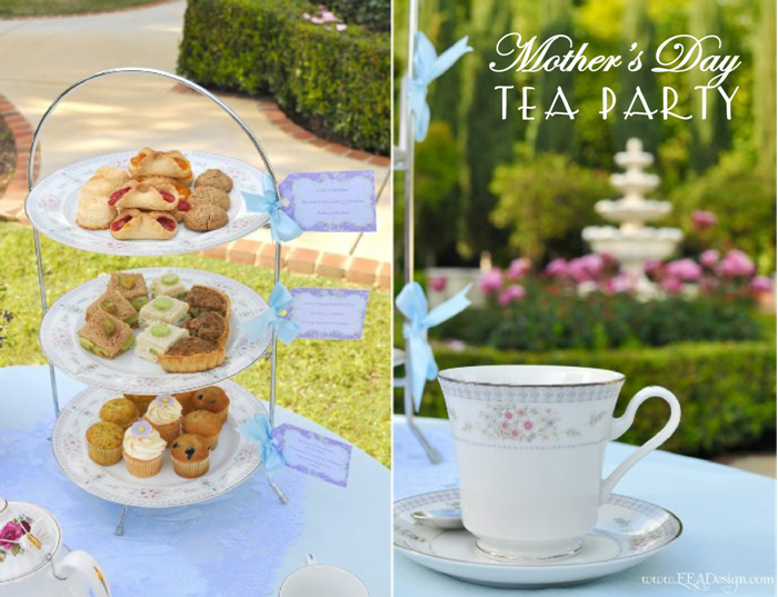 Mothers Day Party Ideas A Mother Daughter Tea Party Party