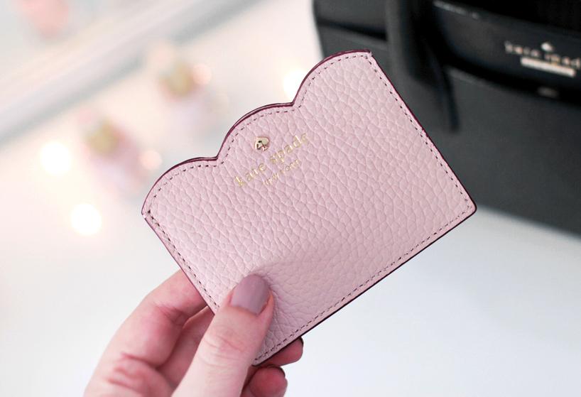 Kate Spade Leewood Place Card Holder Pink Granite