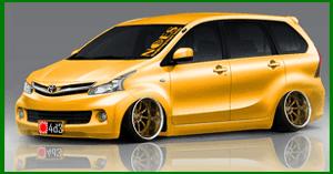 Gambar Modifikasi Mobil Avanza Terbaru 2015 - Modif10 Blog's