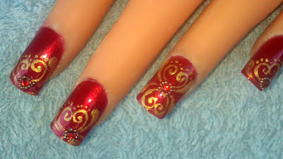 Traditional-indian-bridal-nail-art-designs-for-wedding-7