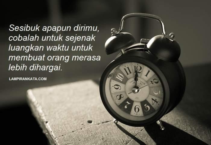 Kata Kata Tentang Waktu Yang Cepat Berlalu