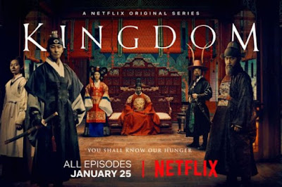 Kingdom, Netflix Original Series, Korean Drama, Drama Korea, Korean Drama Kingdom, Popular Korean Drama, Historical Drama, Zombie, Filem dan Drama Bulan Februari Hingga Mac 2018, Review By Miss Banu, Blog Miss Banu Story, Ulasan, My Opinion, Kingdom Cast, Pelakon Drama Korea Kingdom, Ju Ji-hoon, Ryu Seung-ryong, Bae Doo-na, Kim Sung-gyu, Kim Sang-ho, Heo Joon-ho, Poster Drama Korea Kingdom, Korean Style,