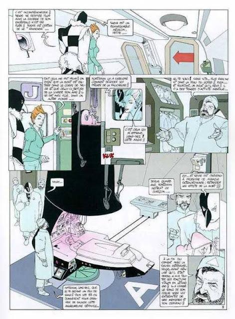 Page extraite de Neige T5 Il Diavolo de Gine et convard chez Glénat