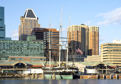 Inner Harbor in Baltimore Maryland