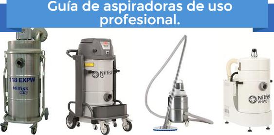 Aspiradoras para uso profesional e industrial