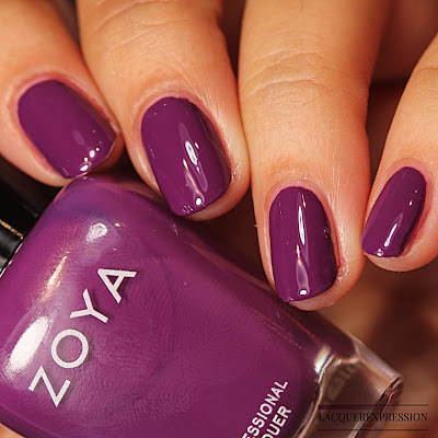 Nail polish swatch of  Maeve from the Zoya Element Fall 2018 collection