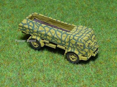 Italian Fiat 665 armored truck