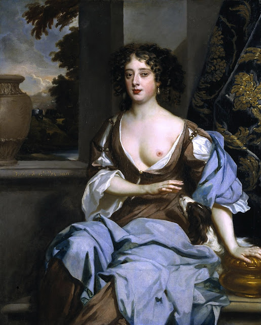 Peter Lely - Ritratto di Margaret Hughes - sex paintings