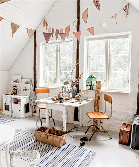 Vintage Style Kids Room: [Deco] Inspiración: Vintage Kid's Room