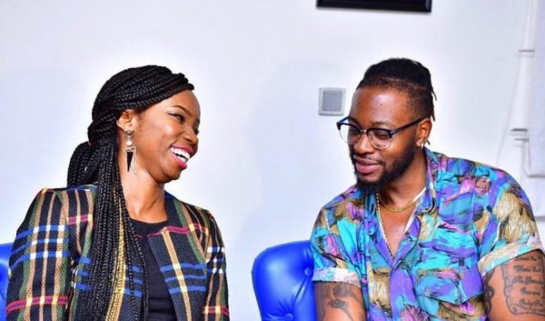 See What Teddy A Did To Bambam As She Took Photos With Her Fans
