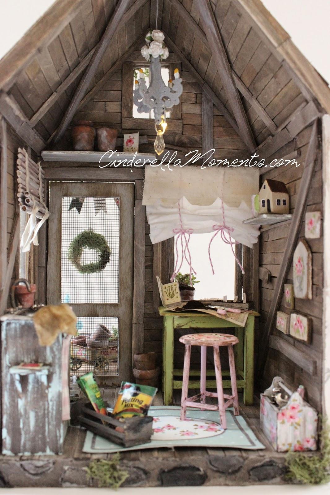Cinderella Moments Petite Maison De Jardin Custom Dollhouse