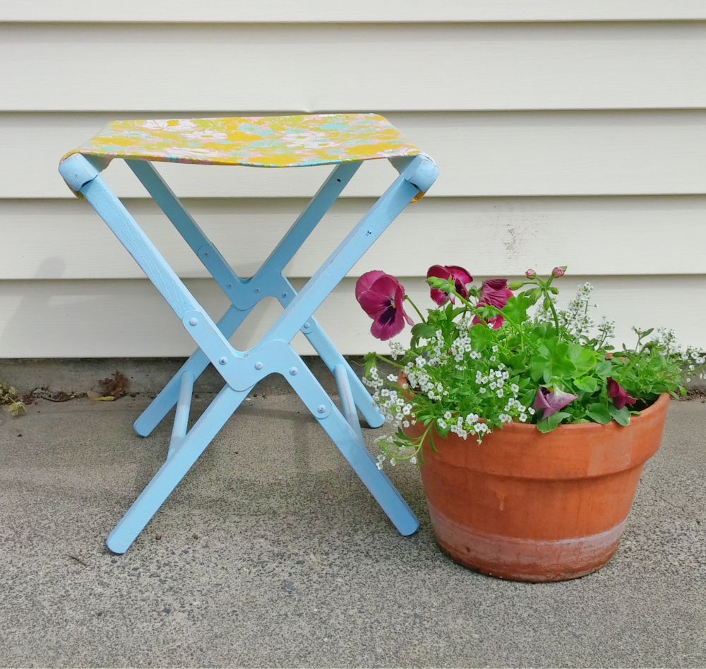 Vintage Camp Stool Refresh