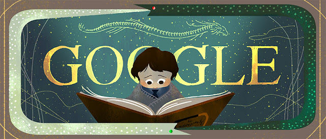 37th Anniversary of The Neverending Story's First Publishing - Google Doodle