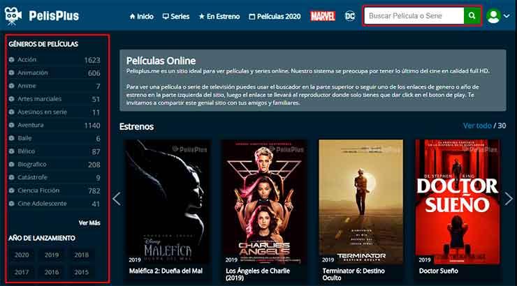 Conoce Las 5 Mejores Páginas Para Ver Películas Online Gratis Andropixel