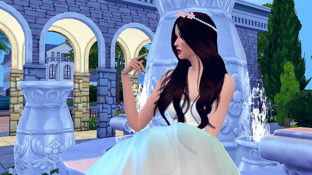 Sims  Wedding Wont Let Them Cut Cake