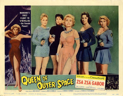 Queen Of Outer Space 1958 Zsa Zsa Gabor Image 4