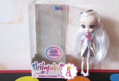 Маленькая кукла Шибаджуку Герлз 15 см Мики серия Мини
