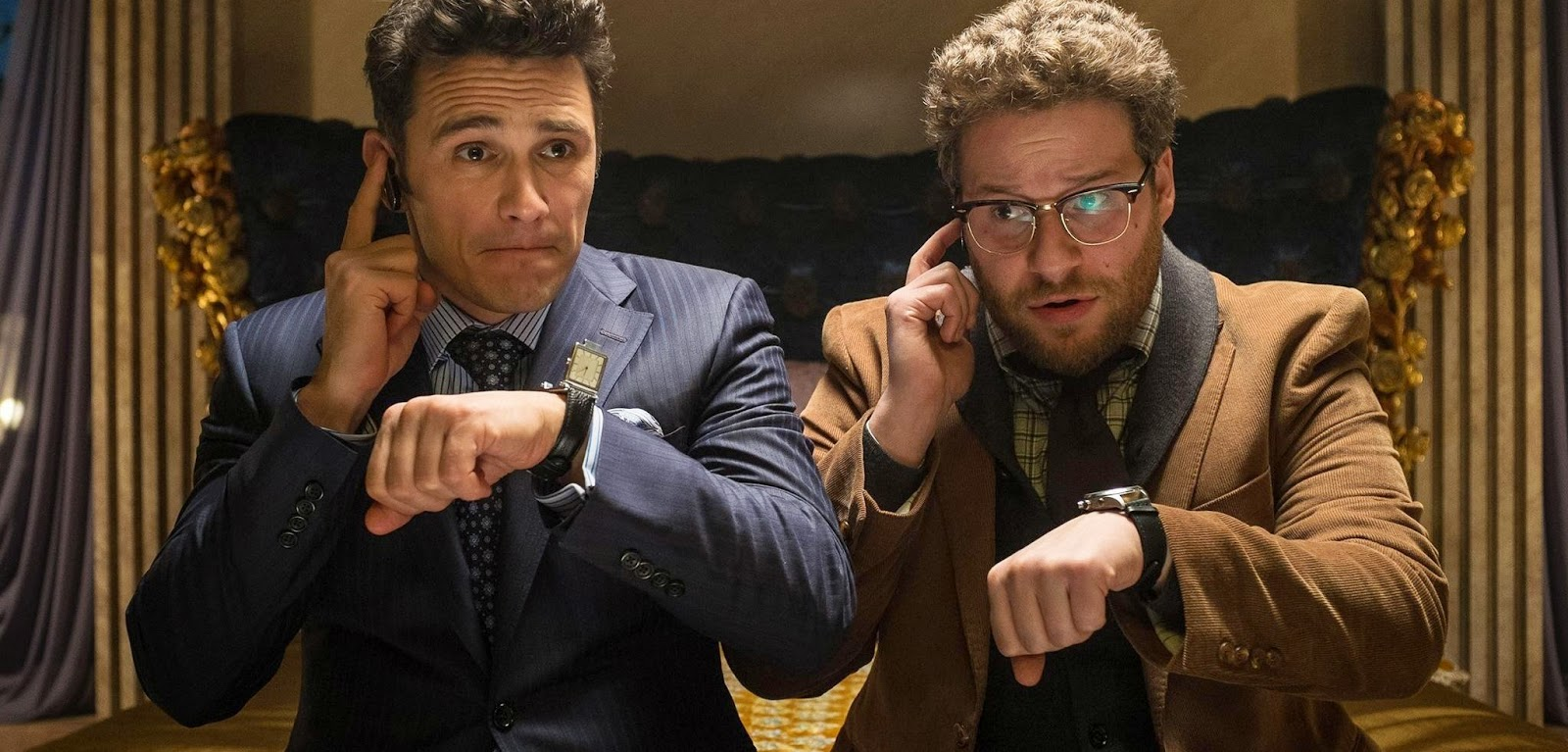 James Franco e Seth Rogen no trailer final legendado da comédia A Entrevista